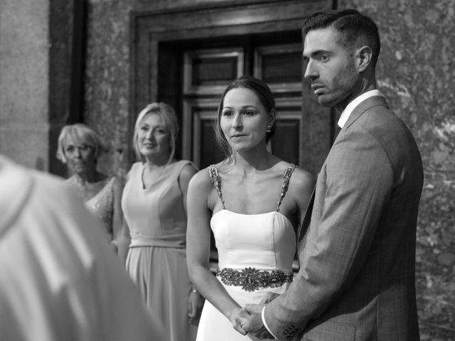 La boda de Rodrigo y Marta en San Lorenzo De El Escorial, Madrid 17