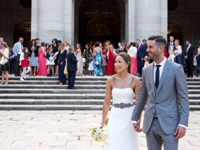 La boda de Rodrigo y Marta en San Lorenzo De El Escorial, Madrid 23