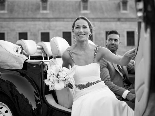 La boda de Rodrigo y Marta en San Lorenzo De El Escorial, Madrid 25