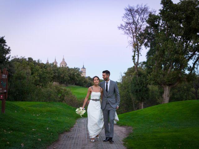 La boda de Rodrigo y Marta en San Lorenzo De El Escorial, Madrid 27