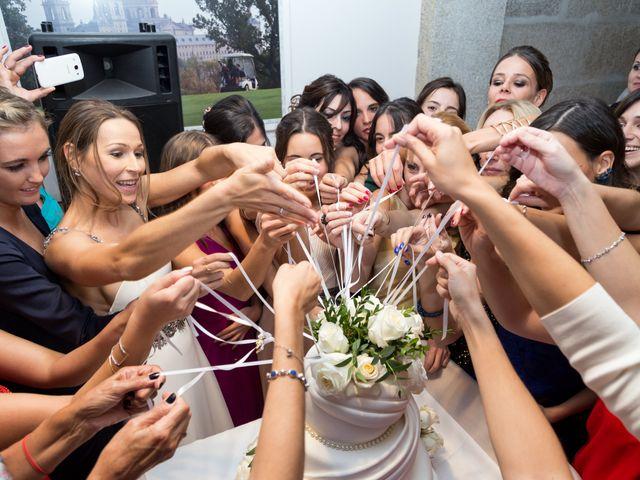 La boda de Rodrigo y Marta en San Lorenzo De El Escorial, Madrid 29