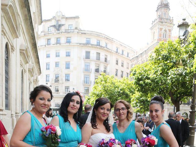 La boda de Javi y Libertad en Sevilla, Sevilla 17