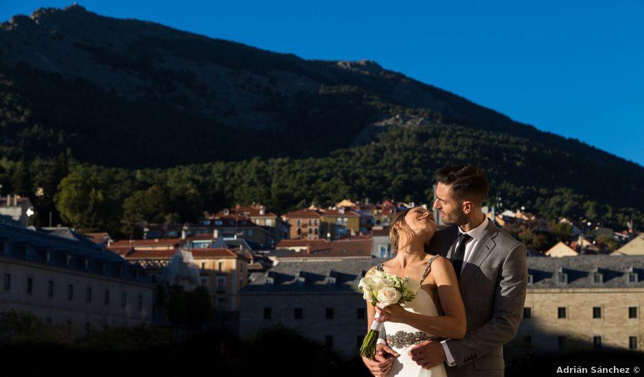 La boda de Rodrigo y Marta en San Lorenzo De El Escorial, Madrid