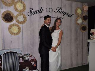 La boda de Santi y Raquel
