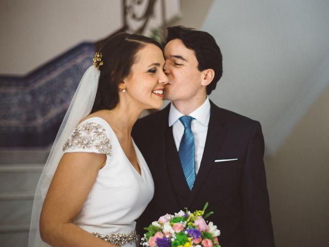 La boda de Ángel y Leonor en Aracena, Huelva 10