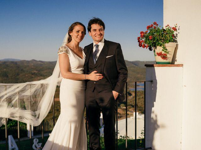 La boda de Ángel y Leonor en Aracena, Huelva 19
