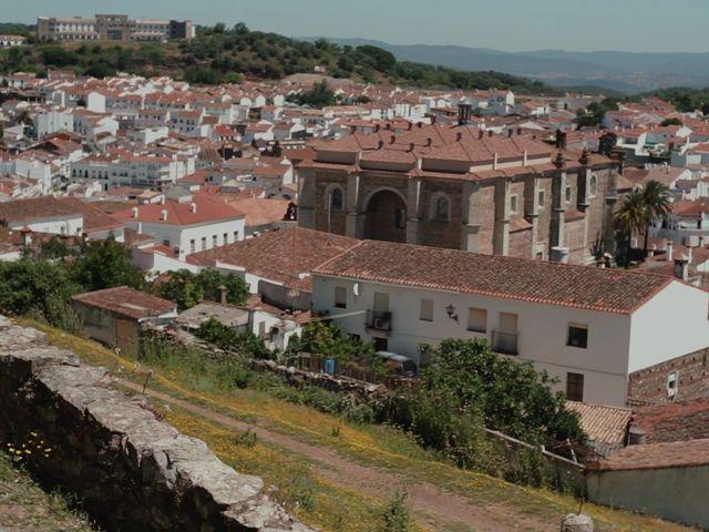 La boda de Ángel y Leonor en Aracena, Huelva 16