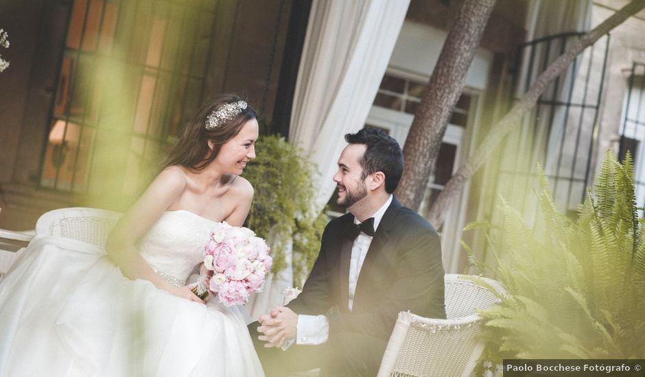 La boda de Manuel y Yulia en Beniarbeig, Alicante