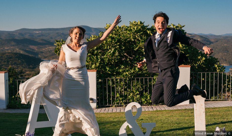 La boda de Ángel y Leonor en Aracena, Huelva