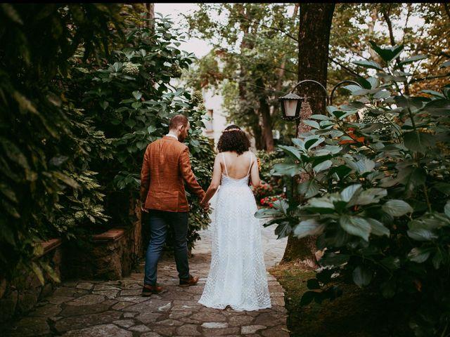La boda de Judith y Tommy