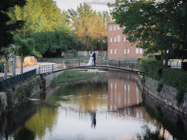 La boda de David y Leticia en Ayllon, Segovia 32