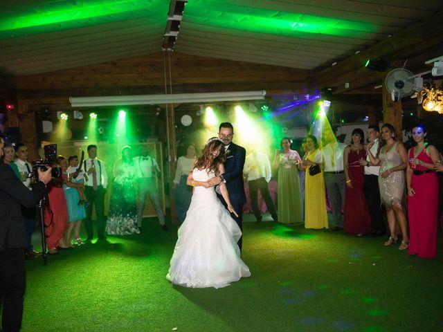La boda de Jonathan y Sara en El Vellon, Madrid 40