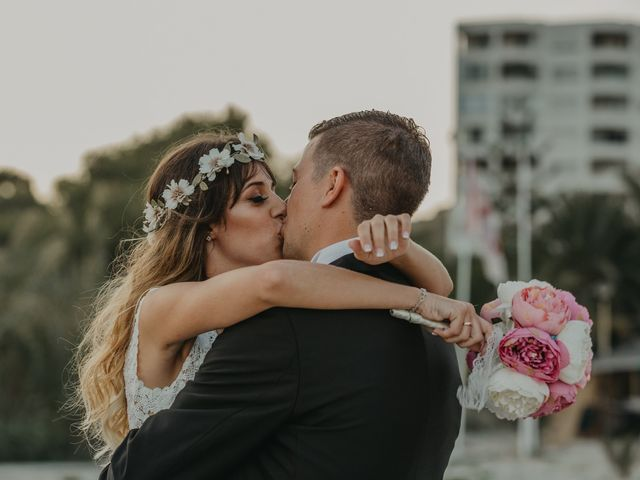 La boda de Mikel y Sheila en Alacant/alicante, Alicante 52