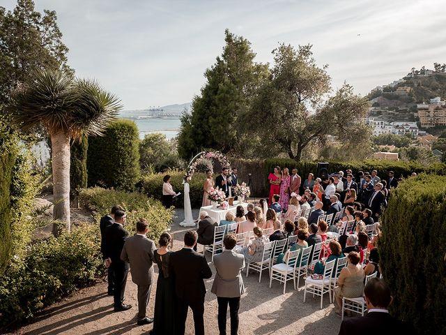 La boda de David y Cristina en Málaga, Málaga 36