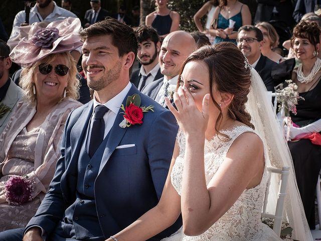 La boda de David y Cristina en Málaga, Málaga 42