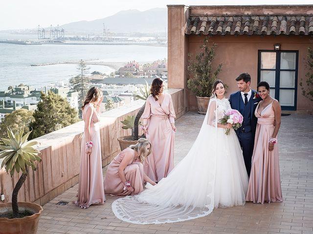La boda de David y Cristina en Málaga, Málaga 69