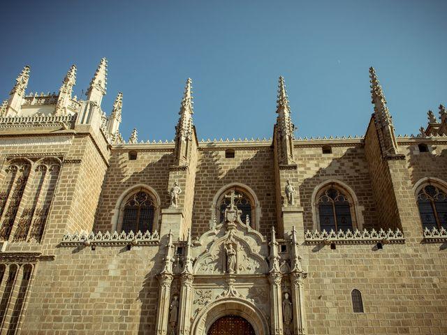 La boda de Cristina y Eduardo en Toledo, Toledo 35