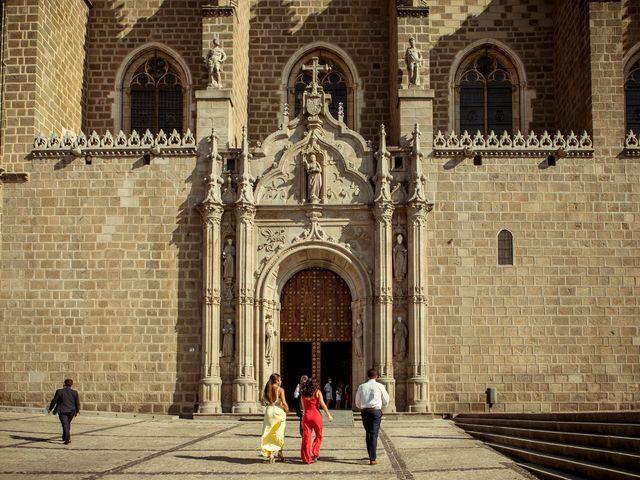 La boda de Cristina y Eduardo en Toledo, Toledo 37