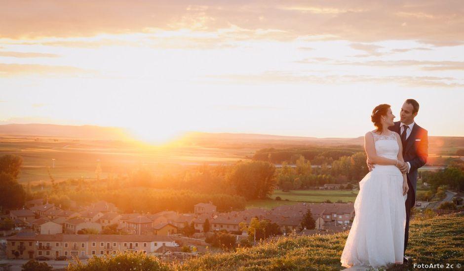 La boda de David y Leticia en Ayllon, Segovia