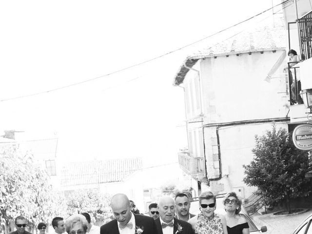 La boda de Manu y Sandra en Pedro Bernardo, Ávila 10