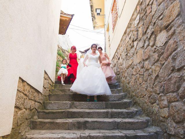 La boda de Manu y Sandra en Pedro Bernardo, Ávila 17