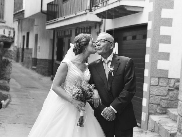 La boda de Manu y Sandra en Pedro Bernardo, Ávila 19