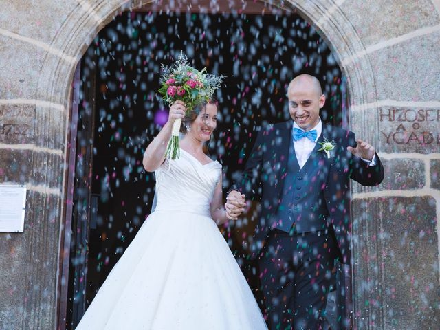 La boda de Manu y Sandra en Pedro Bernardo, Ávila 33