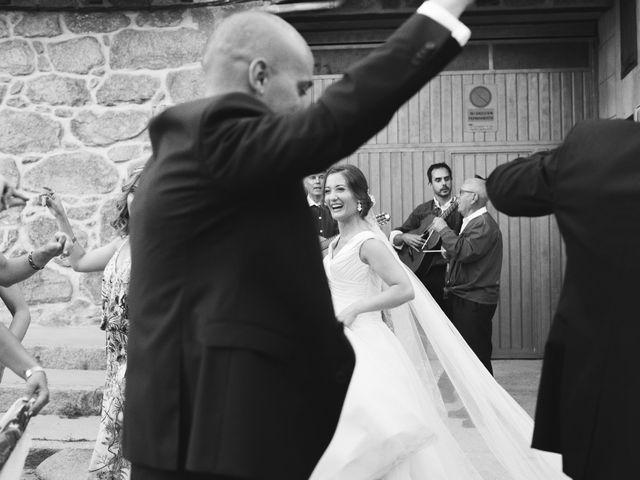 La boda de Manu y Sandra en Pedro Bernardo, Ávila 38