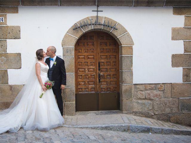 La boda de Manu y Sandra en Pedro Bernardo, Ávila 39