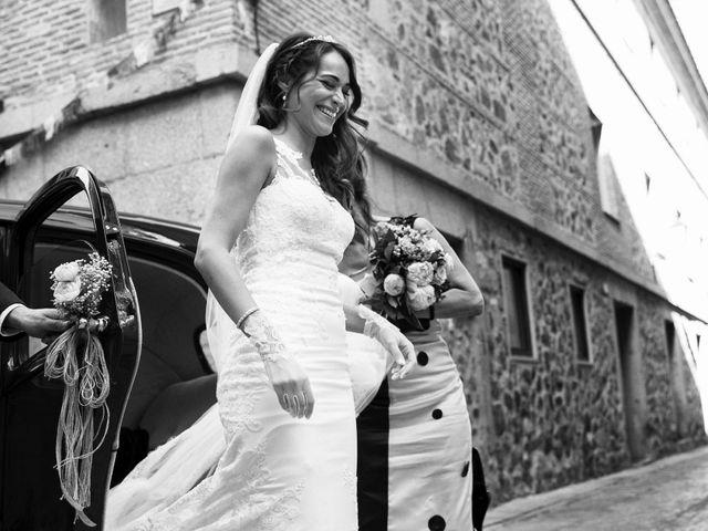 La boda de David y Alicia en Toledo, Toledo 23