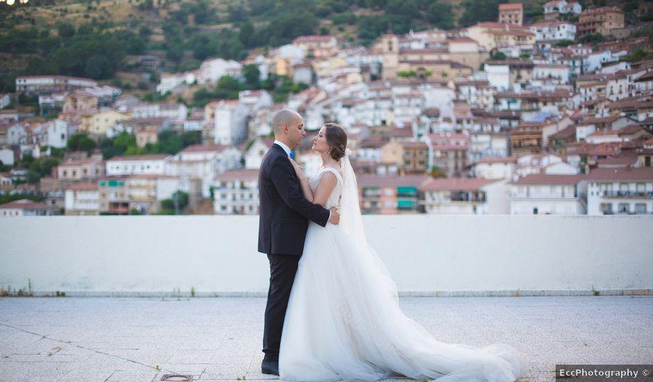La boda de Manu y Sandra en Pedro Bernardo, Ávila