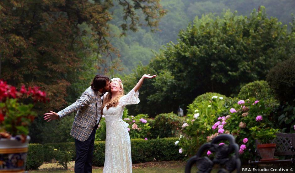 La boda de Guillermo y Almudena en Grado, Asturias
