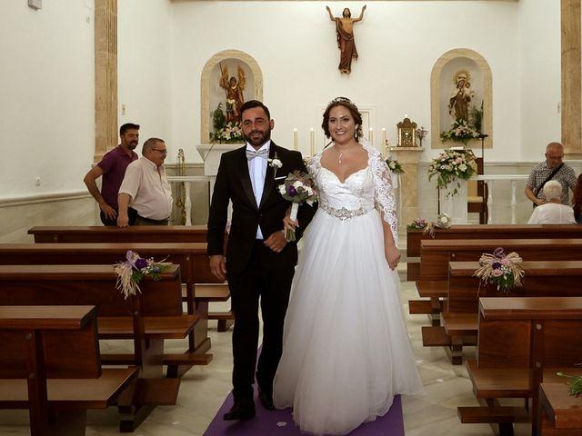 La boda de Ángel y Patricia en Rioja, Almería 12