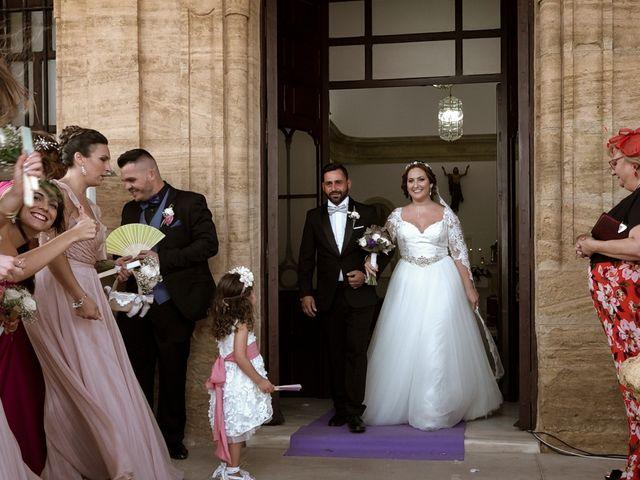 La boda de Ángel y Patricia en Rioja, Almería 2