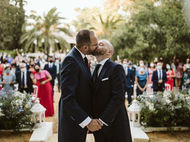 La boda de Adrian y Antonio en Sevilla, Sevilla 47
