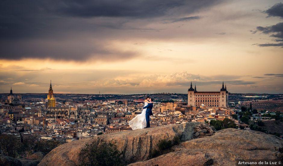 La boda de Quique y Sheila en Mora, Toledo