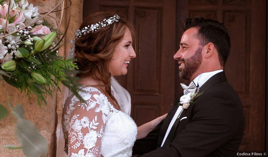 La boda de Ángel y Patricia en Rioja, Almería