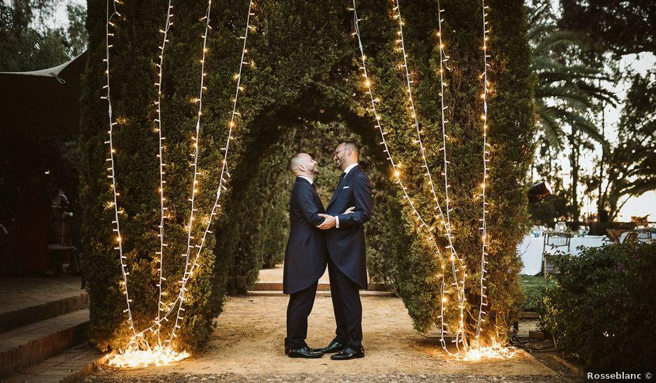 La boda de Adrian y Antonio en Sevilla, Sevilla