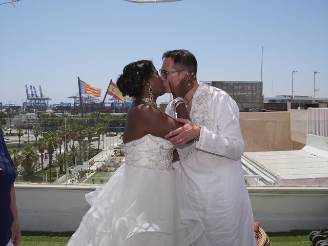 La boda de Sushila  y Lorenzo