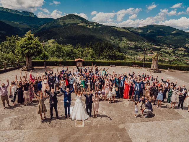 La boda de Janire y Rubén en Dima, Vizcaya 33