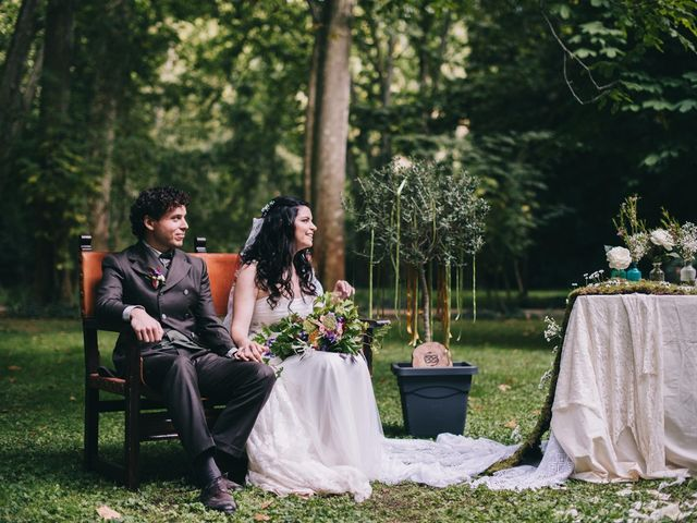 La boda de Lorenzo y Elena en Monasterio De Piedra, Zaragoza 52