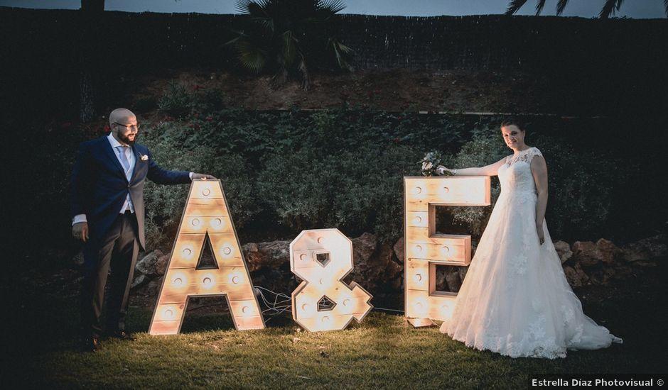 La boda de Adolfo y Esther en Mérida, Badajoz