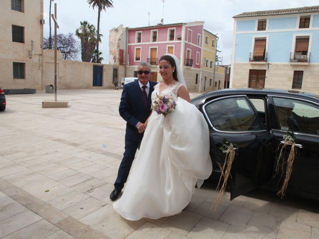 La boda de David y Victoria en Santa Faz, Alicante 2