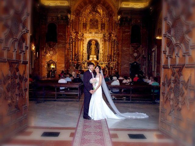 La boda de Álvaro  y Estefania  en Sevilla, Sevilla 104