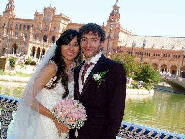La boda de Álvaro  y Estefania  en Sevilla, Sevilla 117