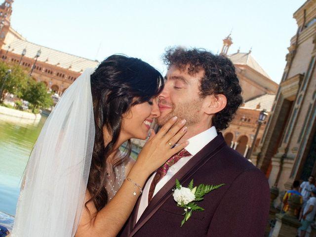 La boda de Álvaro  y Estefania  en Sevilla, Sevilla 118