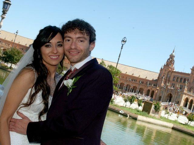 La boda de Álvaro  y Estefania  en Sevilla, Sevilla 119
