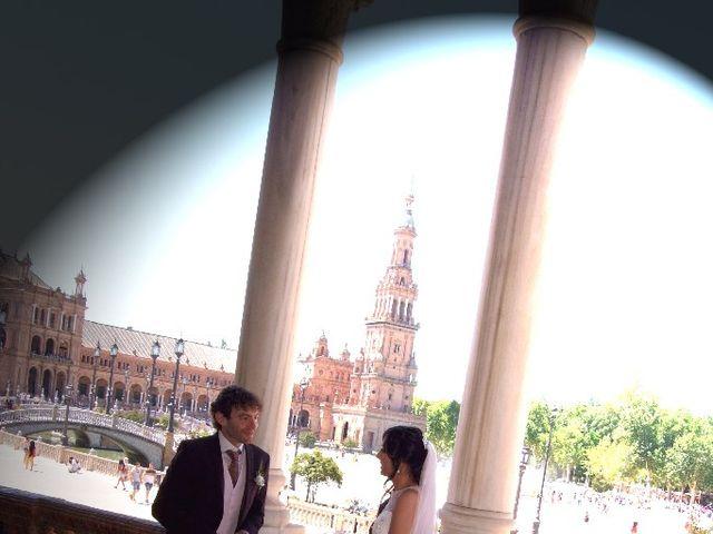 La boda de Álvaro  y Estefania  en Sevilla, Sevilla 129