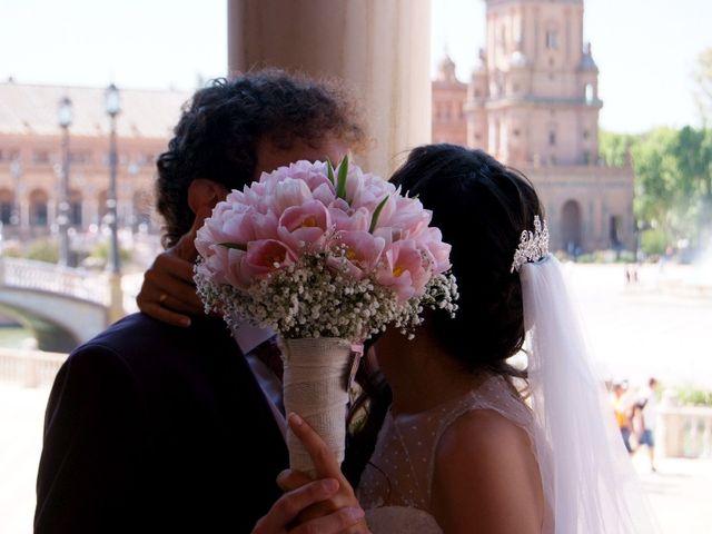 La boda de Álvaro  y Estefania  en Sevilla, Sevilla 130
