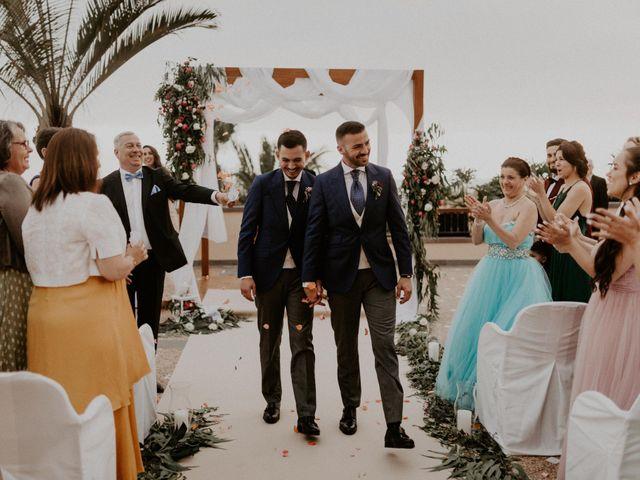 La boda de Adrián y Florian